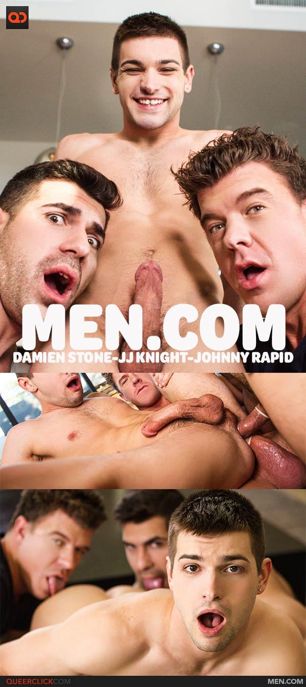 Men.com: Girls Night Part 3 – Damien Stone, JJ Knight & Johnny Rapid