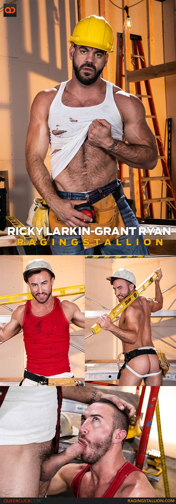 Raging Stallion: Ricky Larkin and Grant Ryan