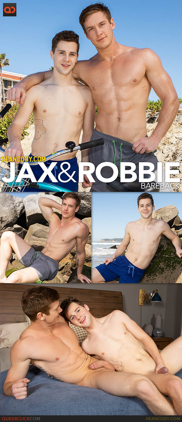 Jax And Robbie - Bareback Cover