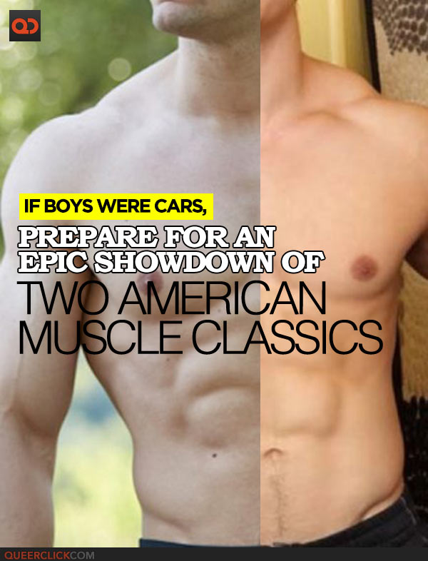 If Boys Were Cars, Prepare for an Epic Showdown of Two American Muscle Classics