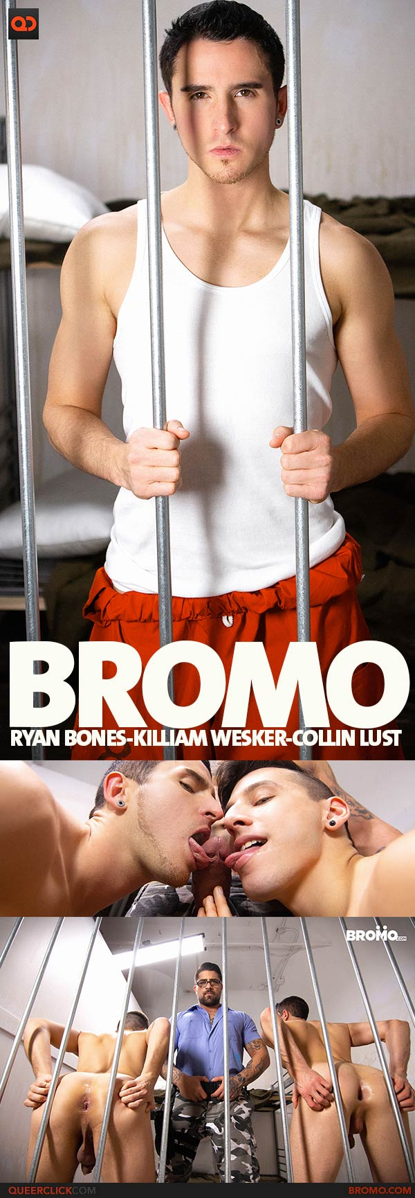 Bromo: Ryan Bones, Killiam Wesker and Collin Lust