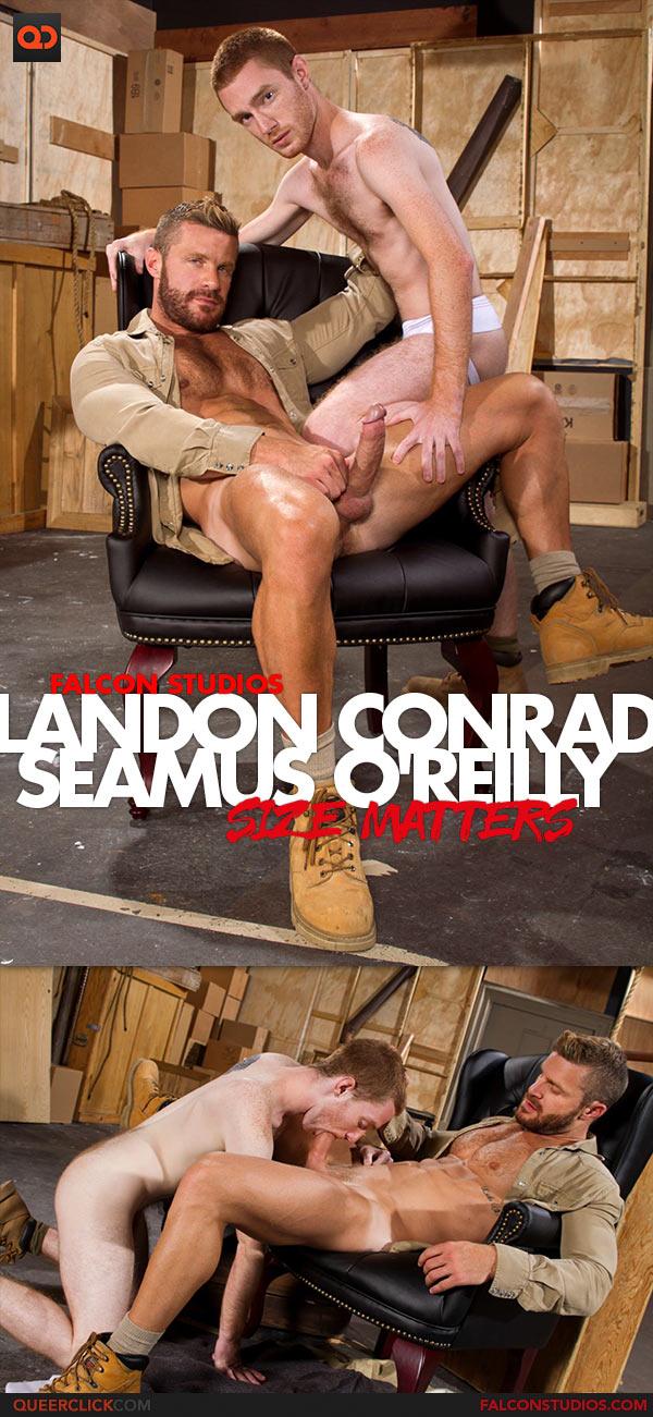 Falcon Studios: Landon Conrad Fucks Seamus O'Reilly - Size Matters