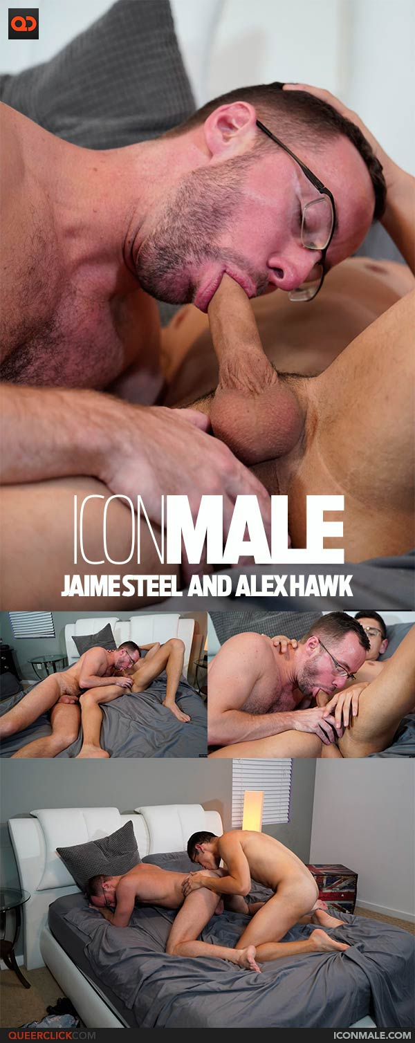 IconMale:  Jaime Steel and Alex Hawk