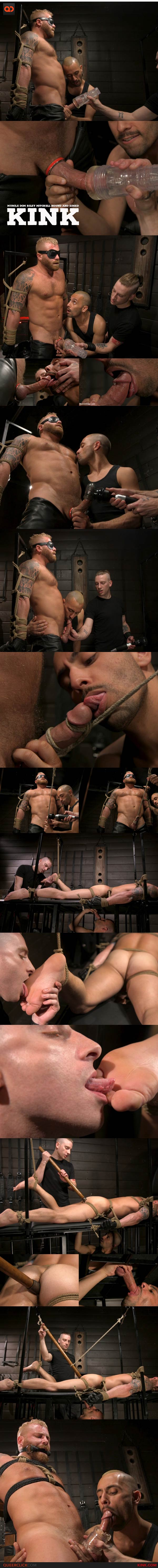 Kink: Muscle Dom Riley Mitchell Bound and Edged