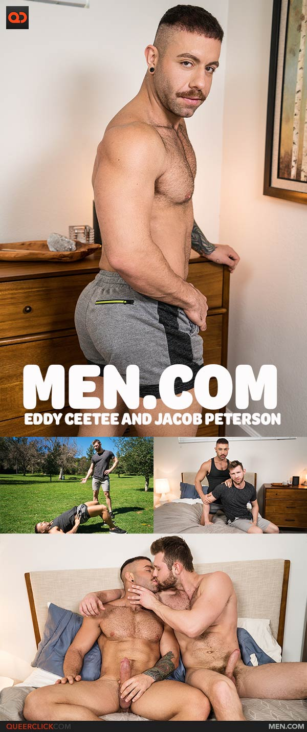 Men.com: Eddy Ceetee and Jacob Peterson
