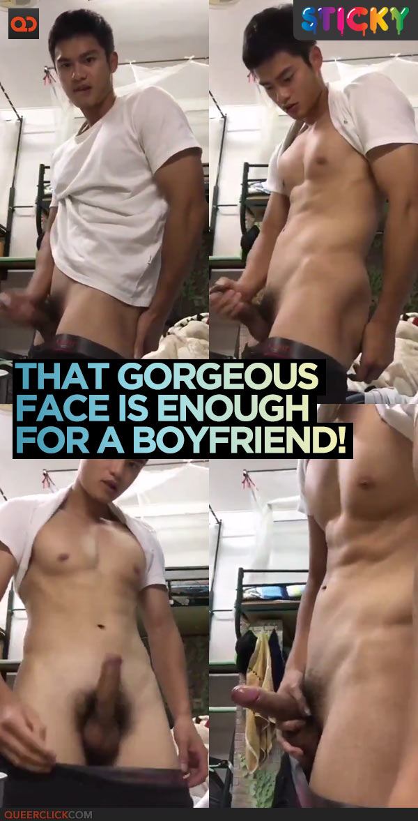 That Gorgeous Face Is Enough For A Boyfriend!