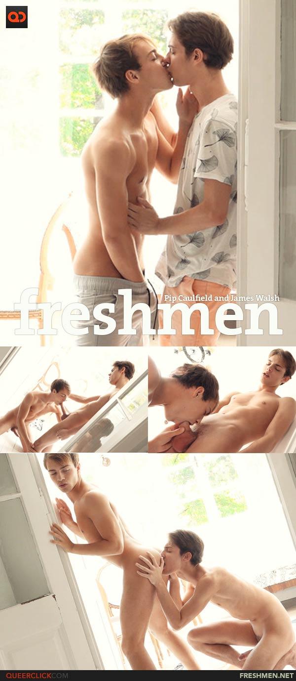 FreshMen: Pip Caulfield and James Walsh