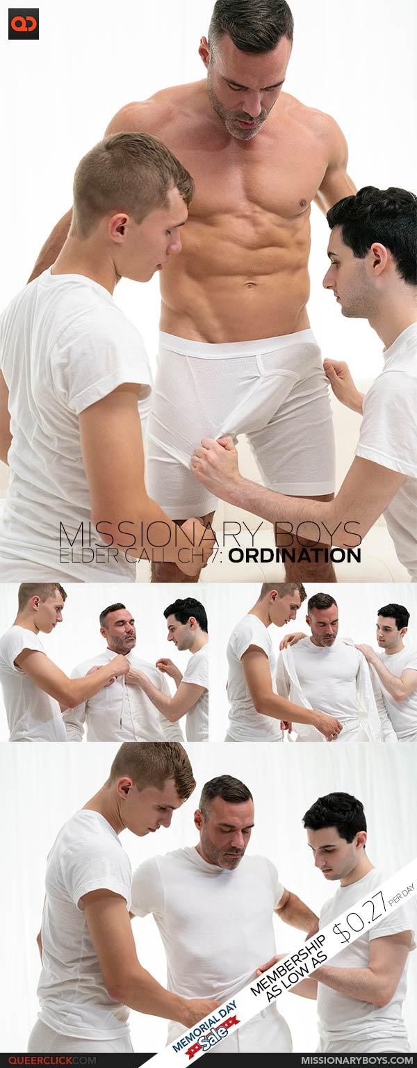 Missionary Boys: Elder Call Ch 7: Ordination