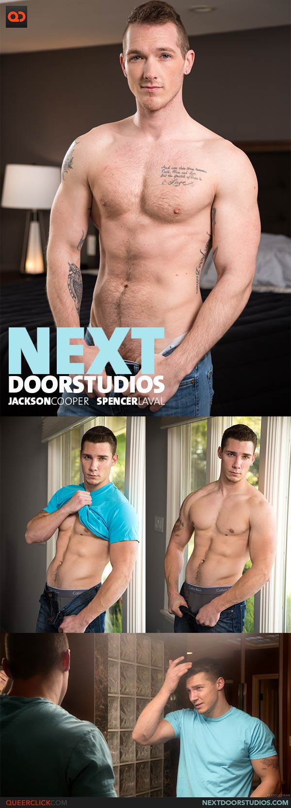 Next Door Studios:  Jackson Cooper and Spencer Laval