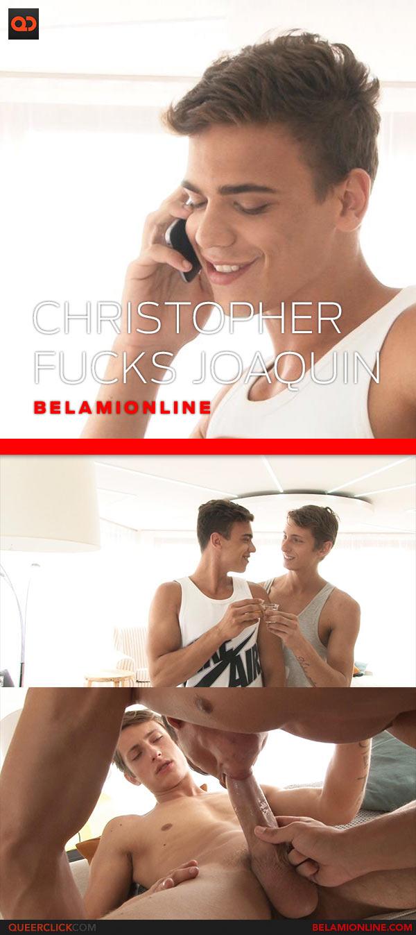 Bel Ami Online: Christopher Caan Fucks Joaquin Arrenas - Bareback