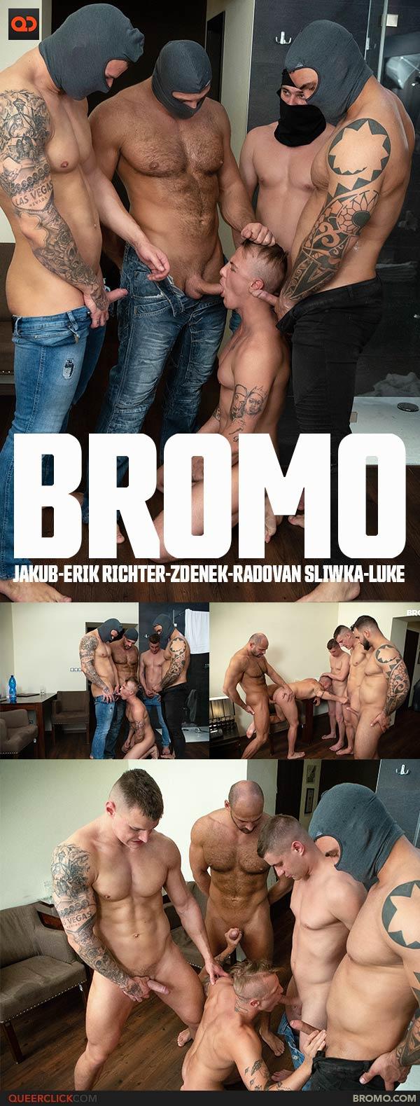 Bromo: Jakub, Erik Richter, Zdenek, Radovan Sliwka and Luke