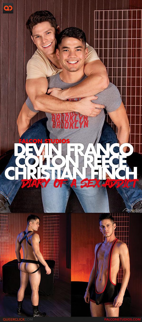 Falcon Studios: Devin Franco, Colton Reece and Christian Finch Bareback Threesome - Diary of a Sex Addict