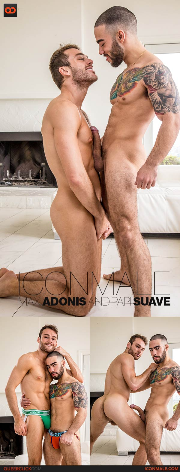 Icon Male: Max Adonis and Papi Suave