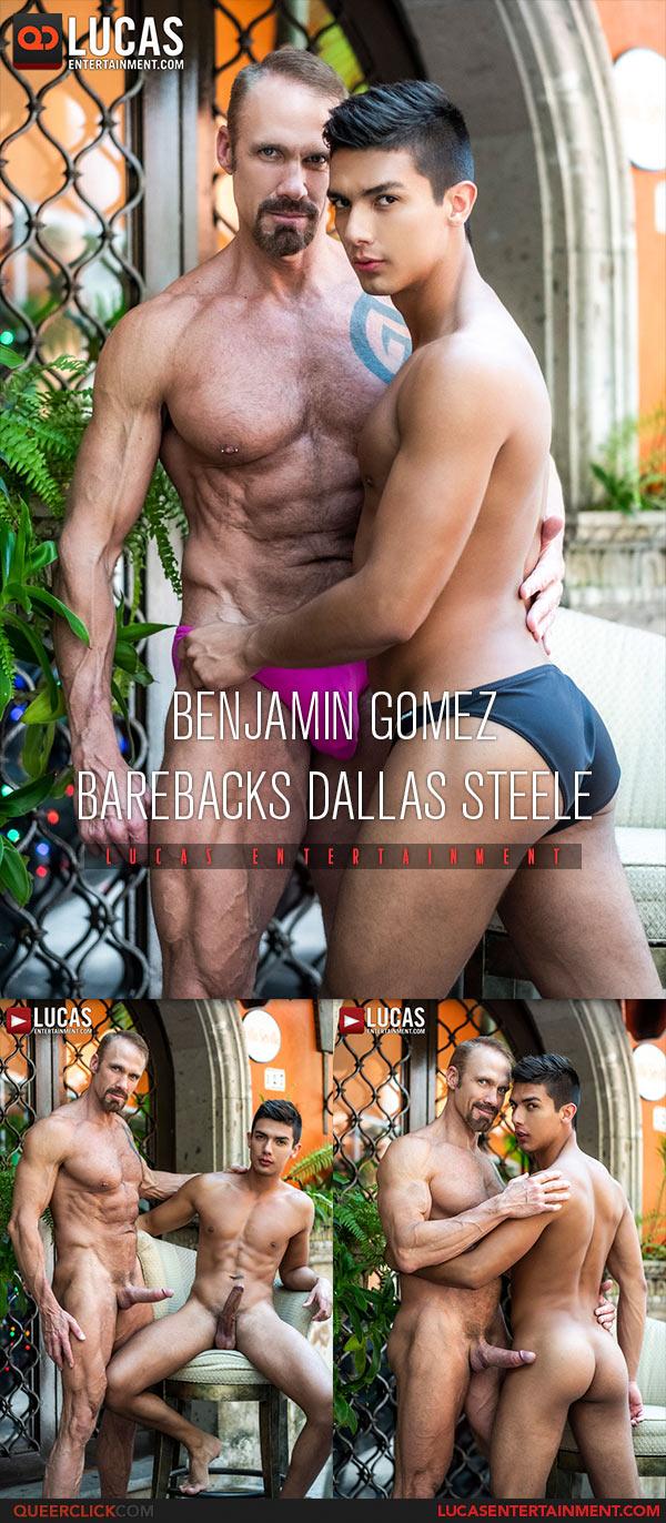 Lucas Entertainment: Dallas Steele and Benjamin Gomez Flip Fuck - Bareback