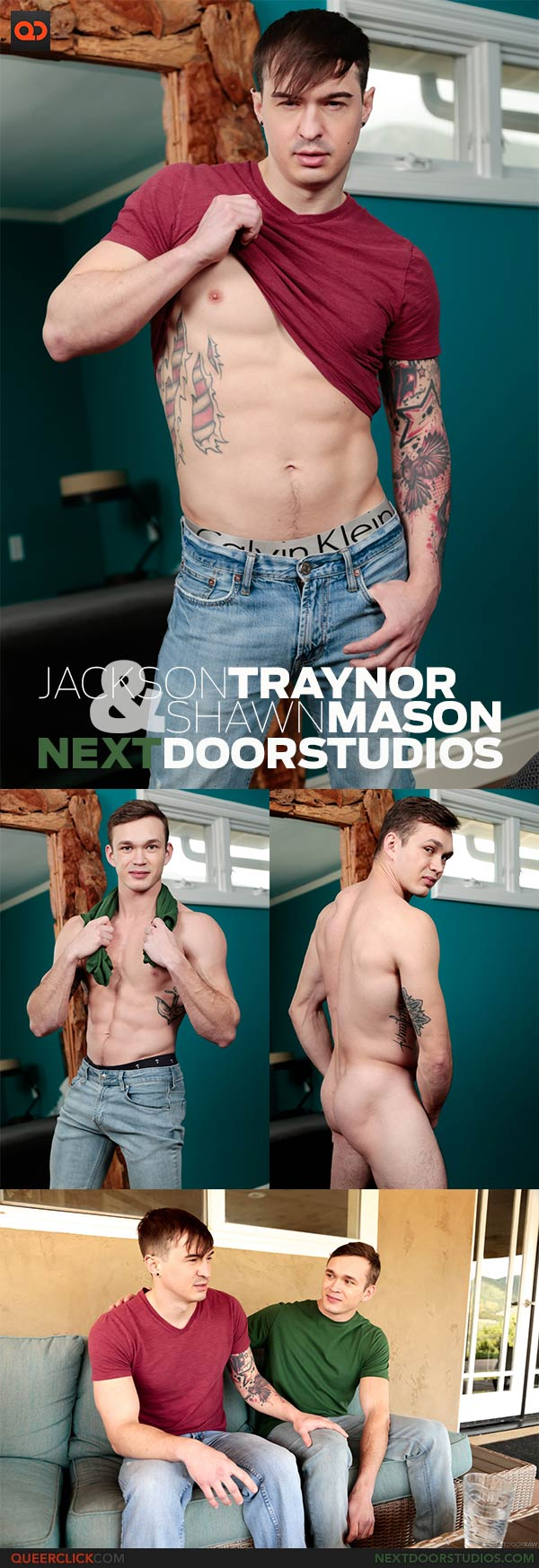 Next Door Studios:  Jackson Traynor and Shawn Mason