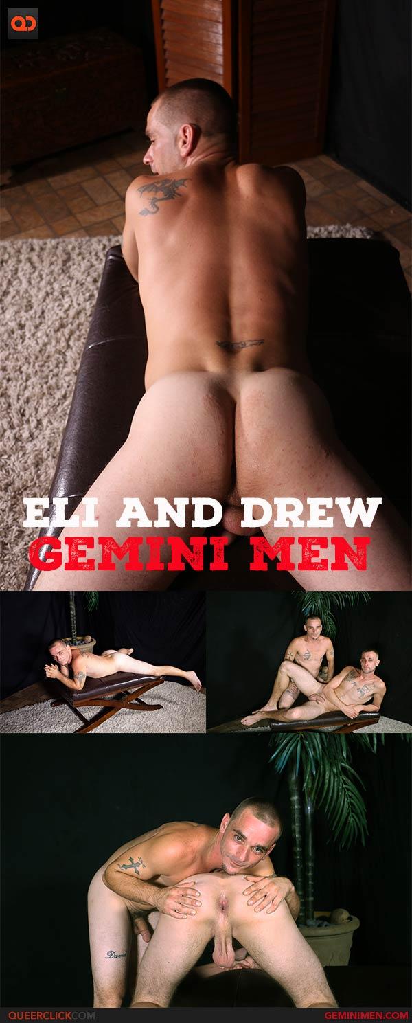 Gemini Men: Eli and Drew Flip Fuck