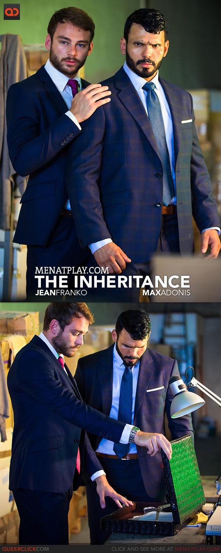 MenAtPlay: The Inheritance - Jean Franko and Max Adonis