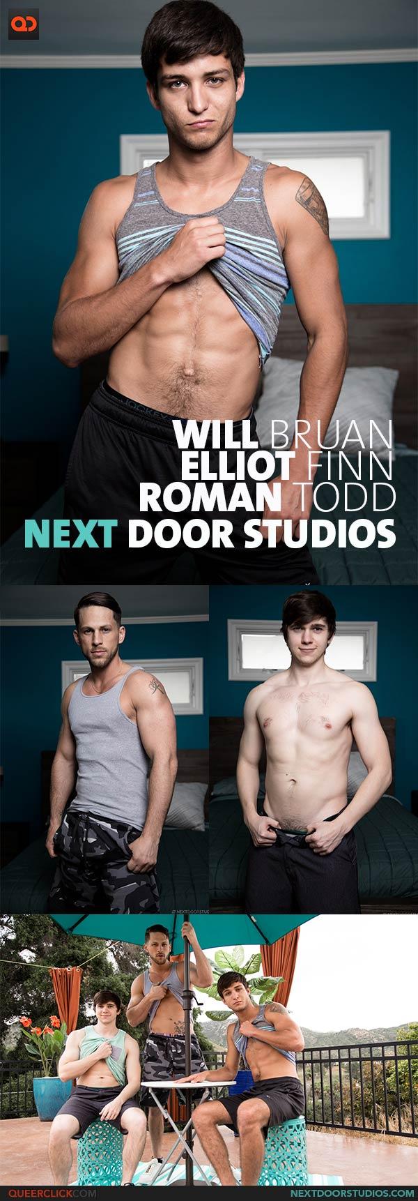Next Door Studios:  Roman Todd, Elliot Finn and Will Braun