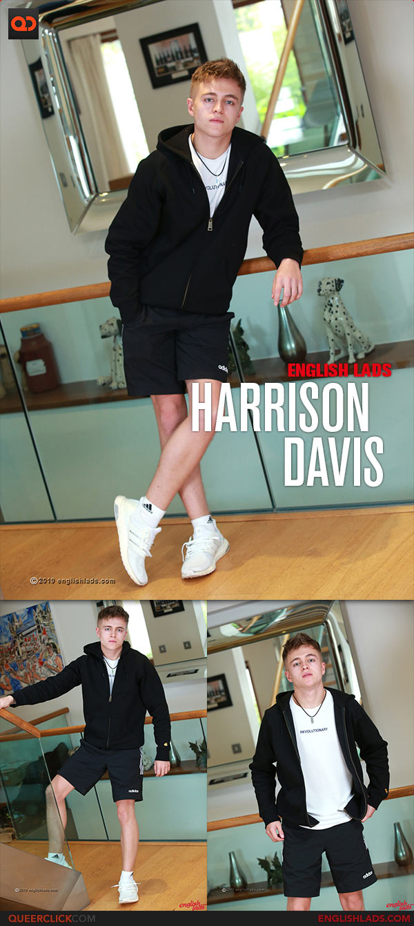 English Lads: Harrison Davis - Young Toned Straight Pup Shows off