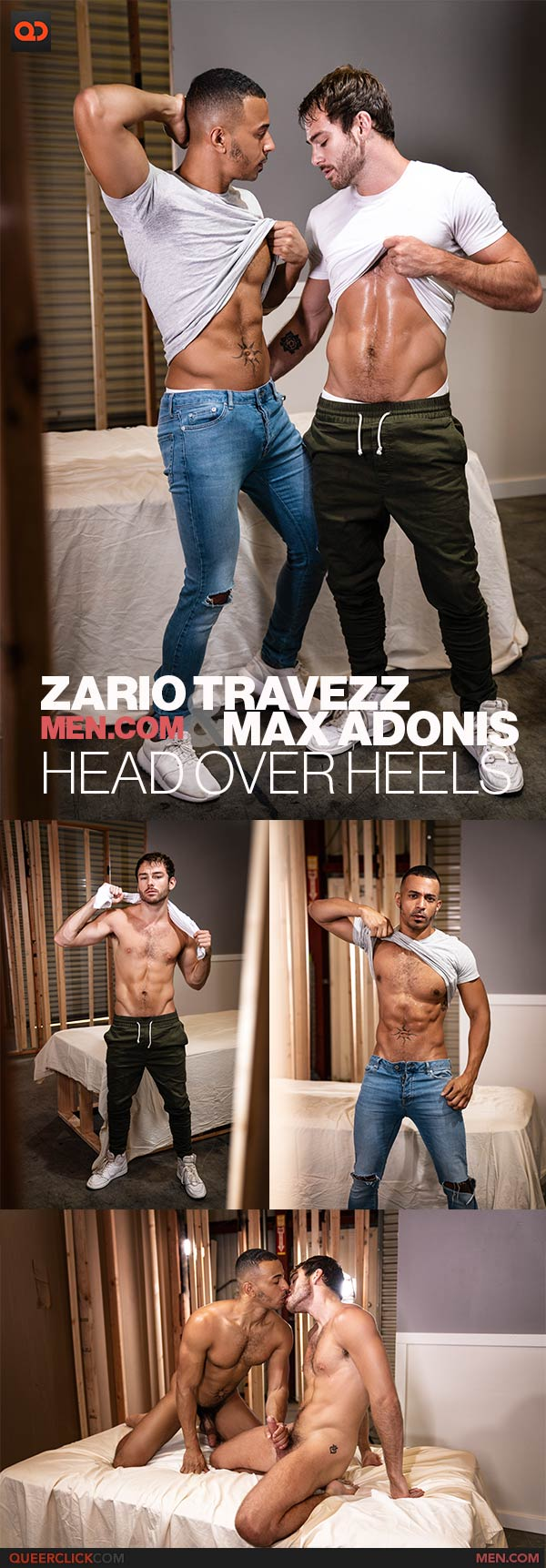 Men.com: Max Adonis and Zario Travezz