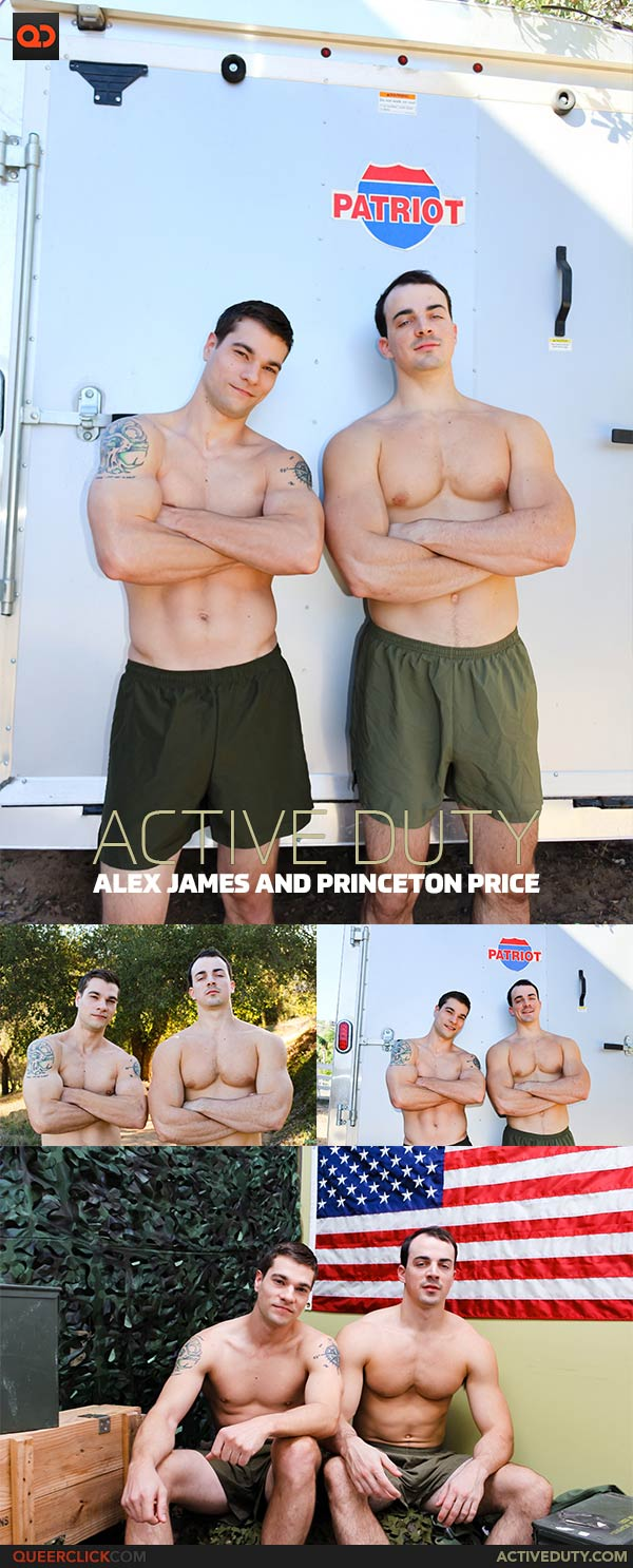 Active Duty: Alex James and Princeton Price