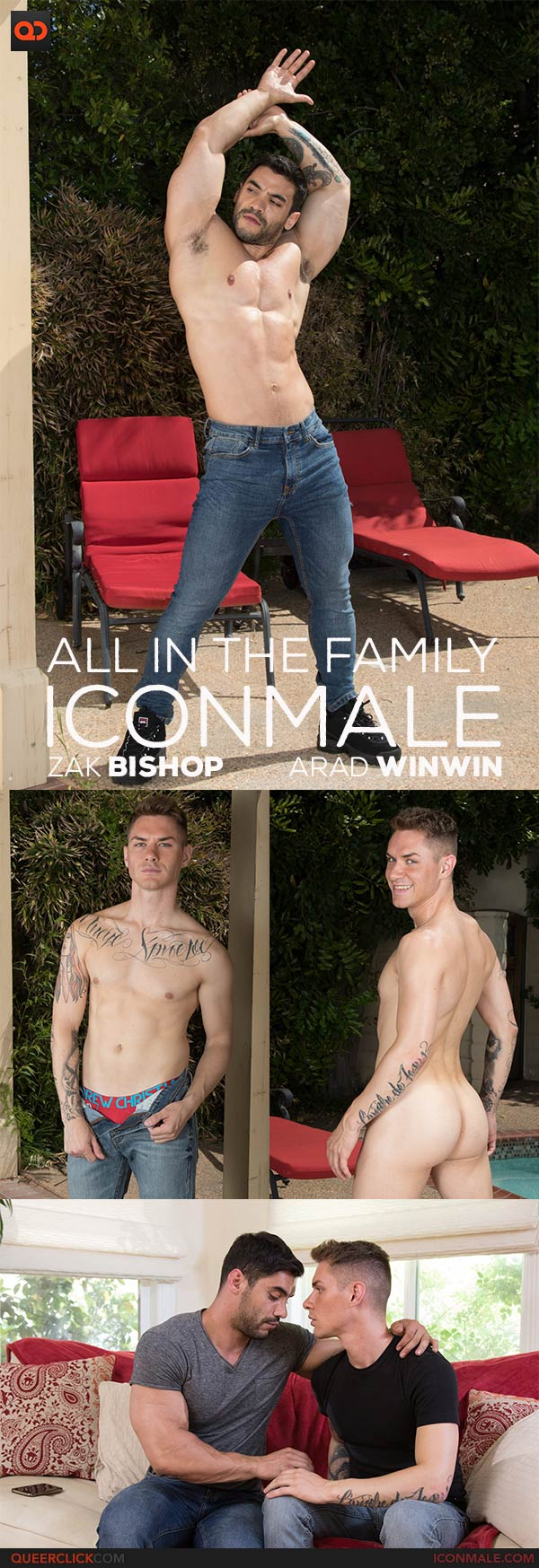 IconMale: Zak Bishop and Arad Winwin