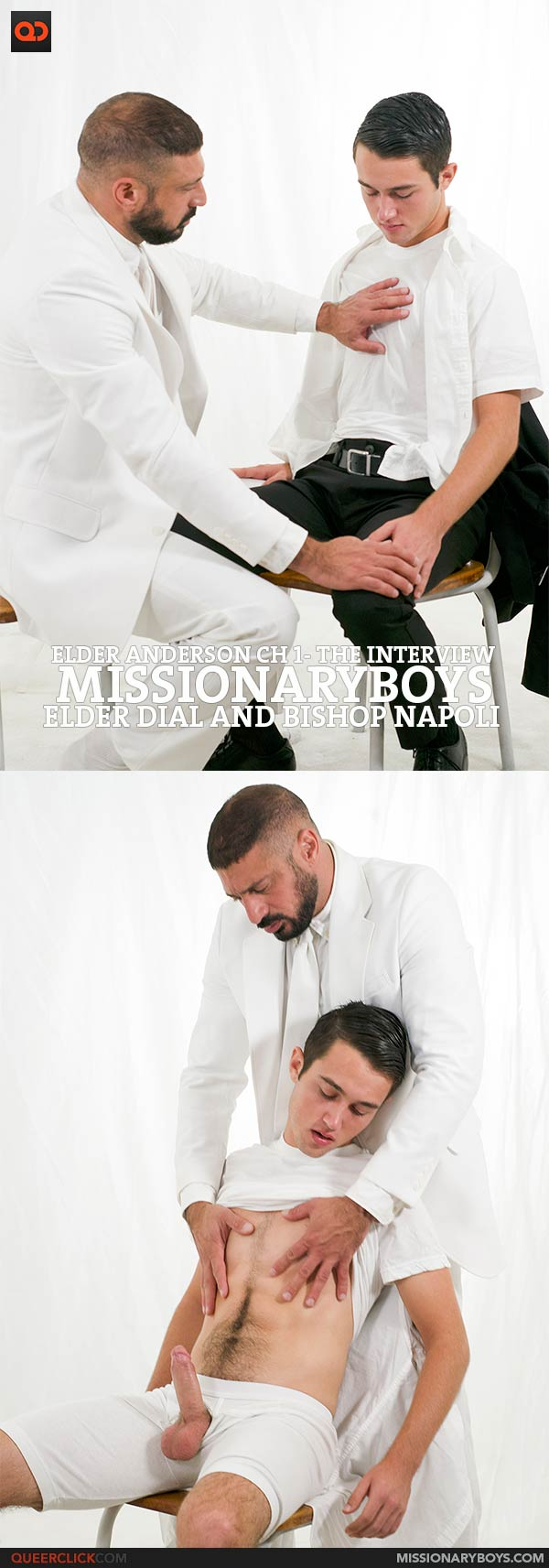 Missionary Boys: Elder Anderson Ch 1- The Interview with Elder Dial and Bishop Napoli