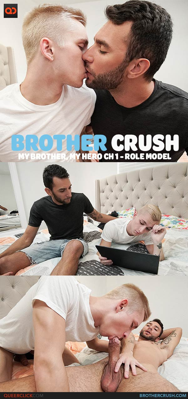 Brother Crush: My Brother, My Hero Ch 1 - Role Model