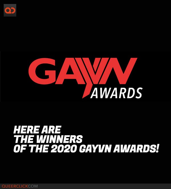 Here Are The Winners of the 2020 GayVN Awards!