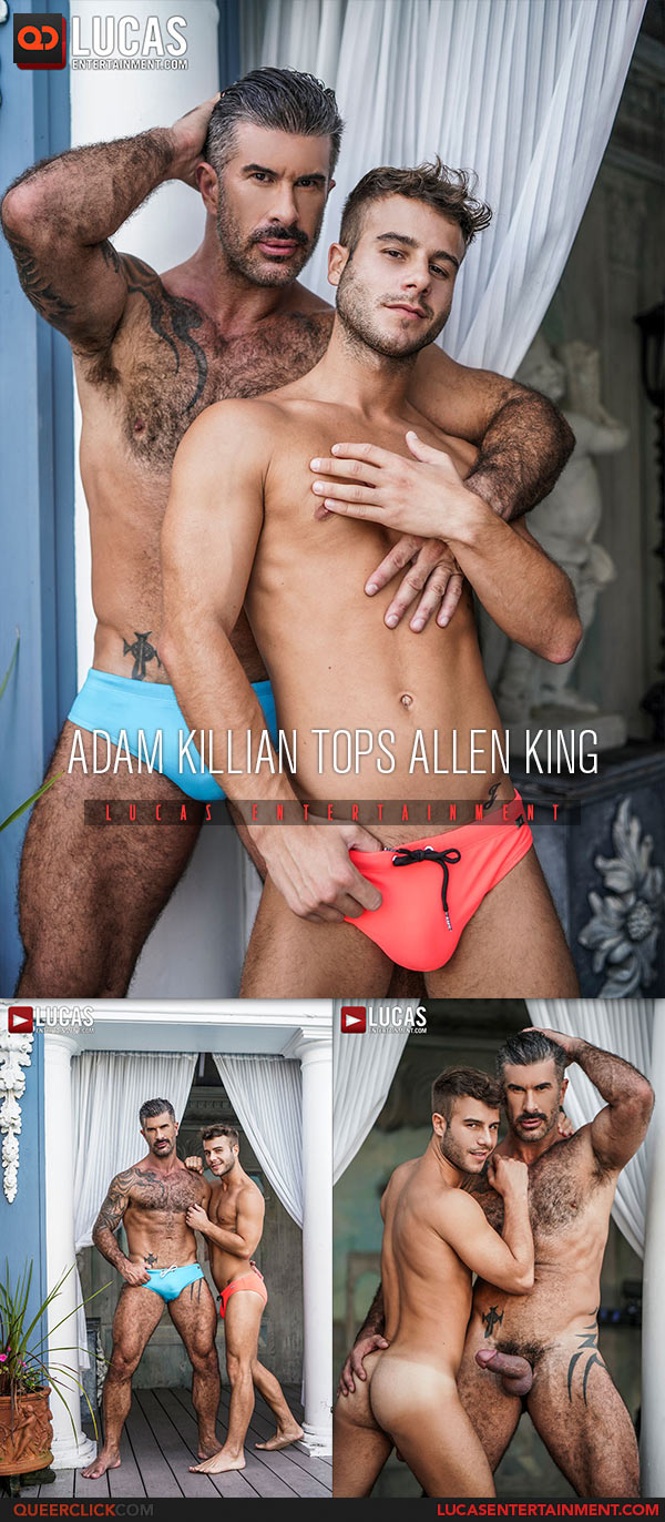Lucas Entertainment: Adam Killian Fucks Allen King - Bareback