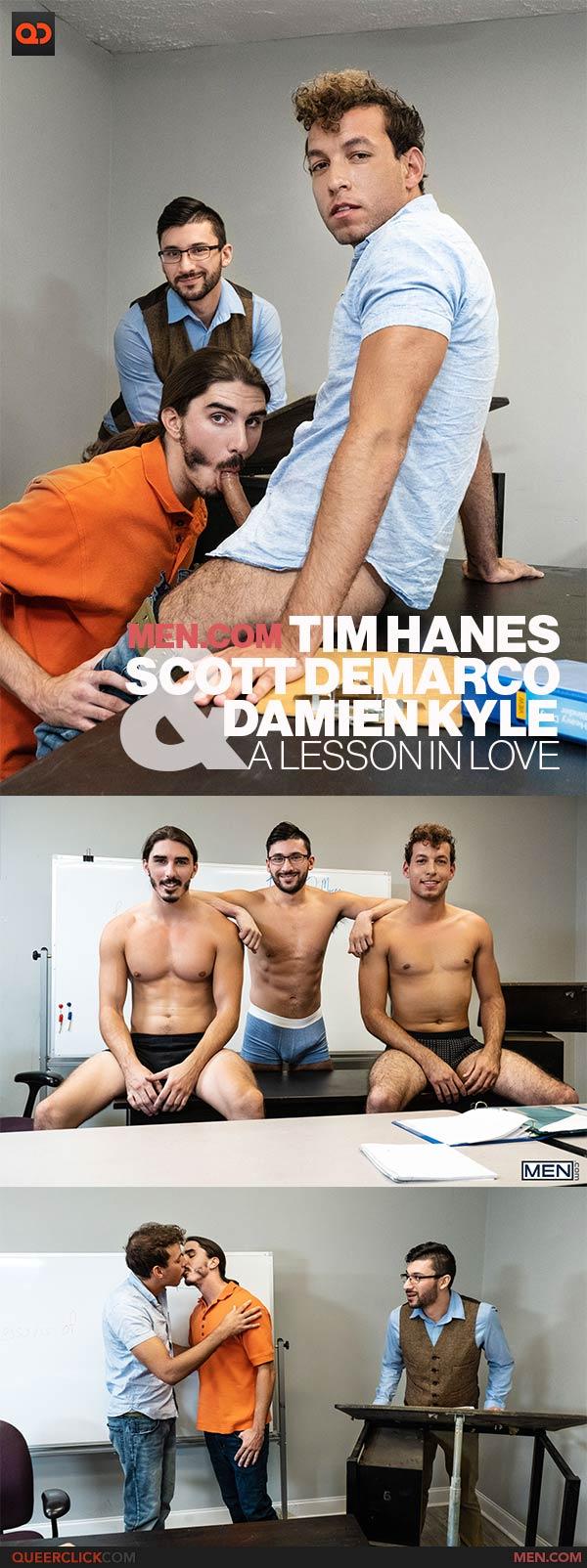 Men.com: Damien Kyle, Scott DeMarco and Tim Hanes