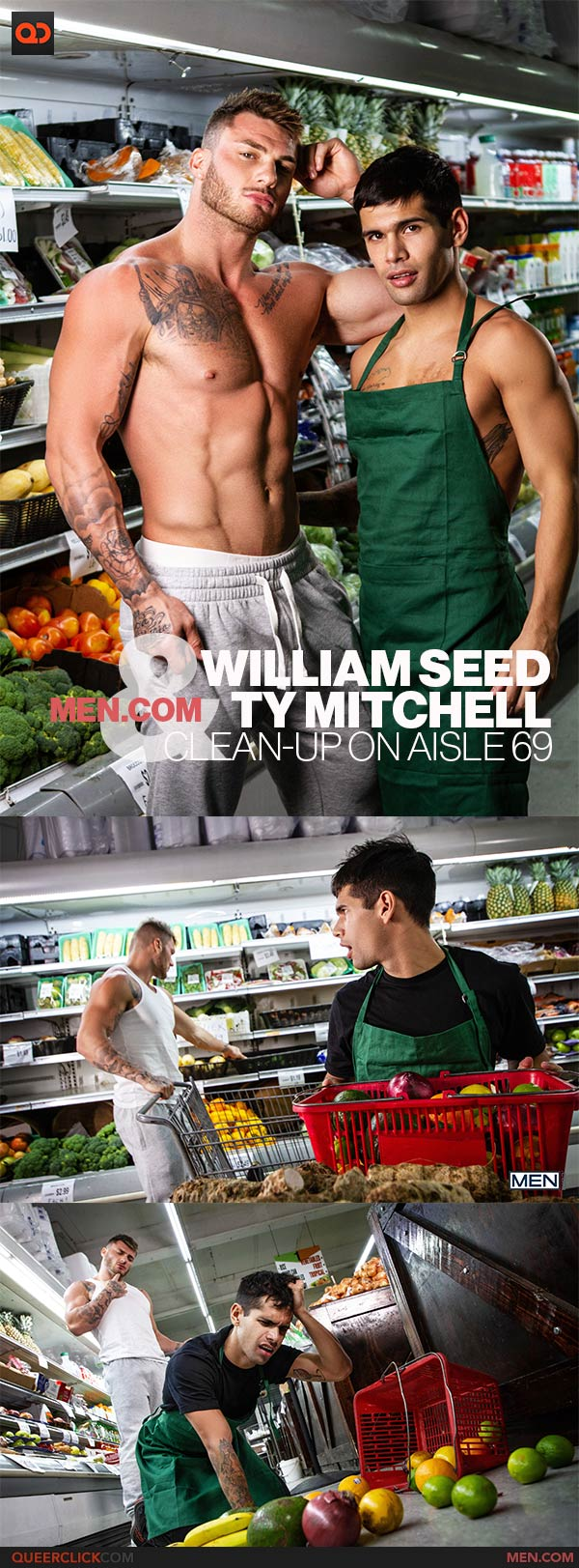Men.com: William Seed and Ty Mitchell