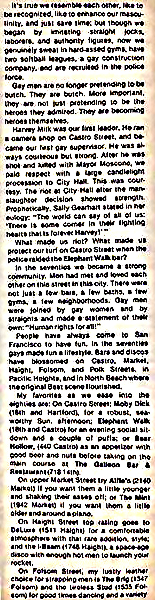 San Francisco In Touch (1979)