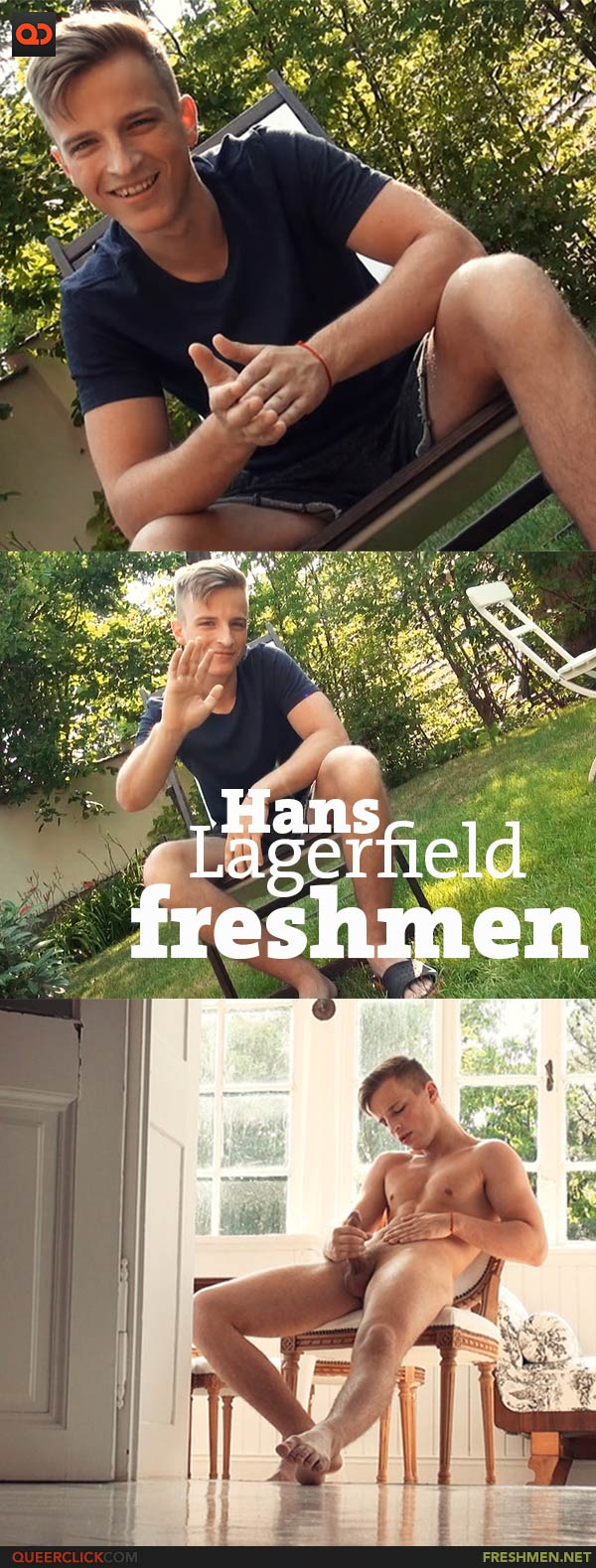 Freshmen: Hans Lagerfield - VALENTINE'S DAY SAVINGS - LIMITED TIME OFFER!