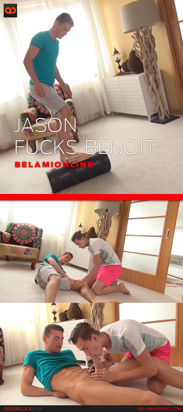 BelAmi Online: Jason Bacall Fucks Benoit Ulliel - Bareback