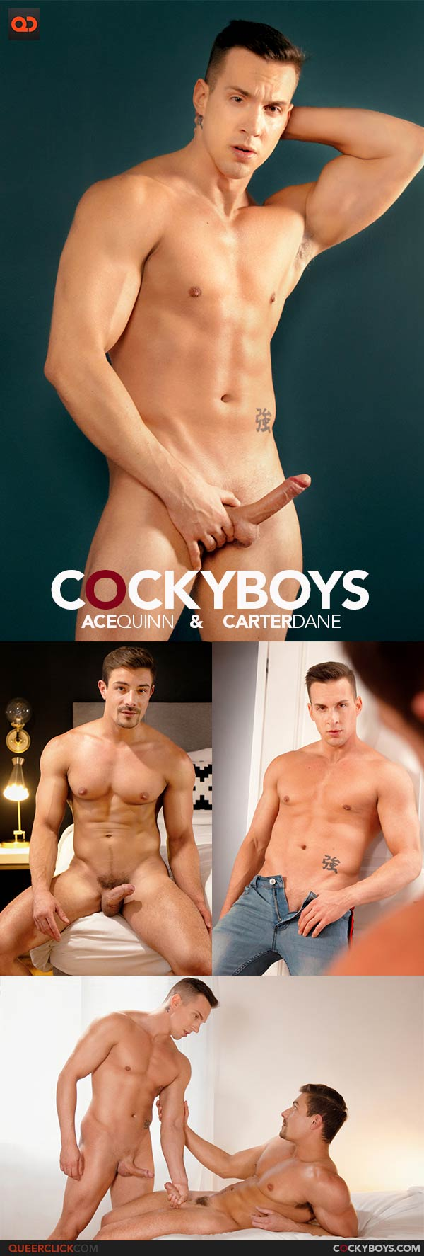 CockyBoys: Ace Quinn and Carter Dane