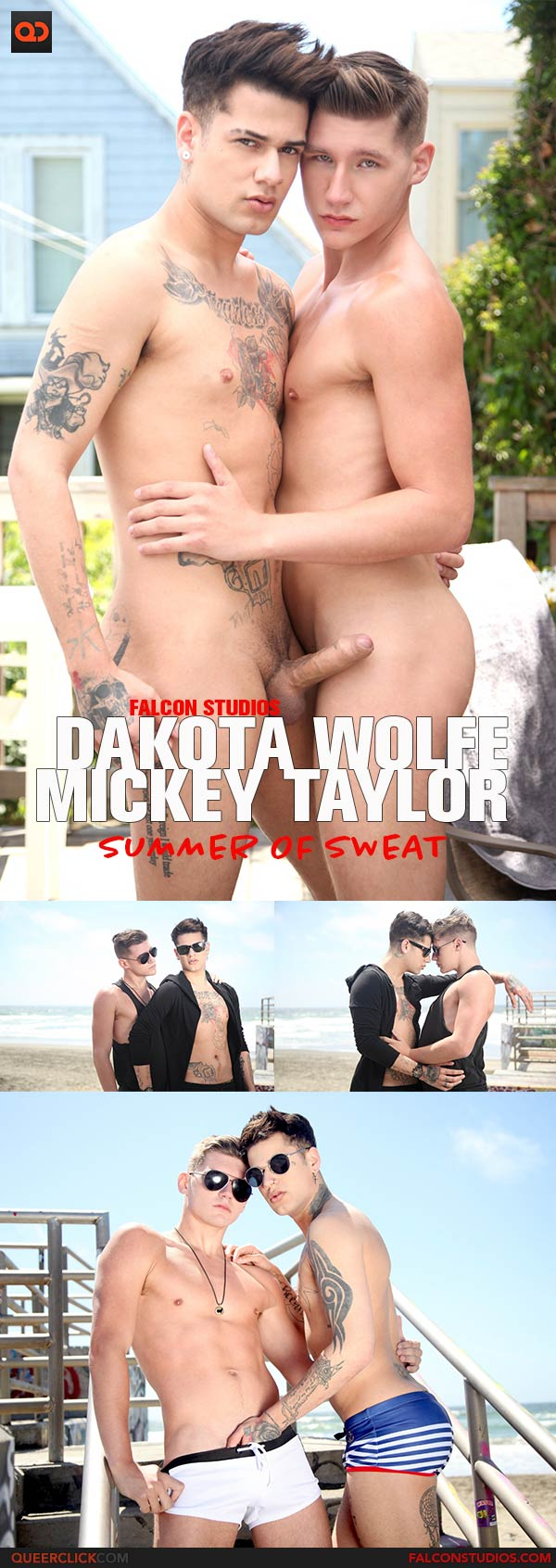 FalconStudios: Dakota Wolfe and Mickey Taylor