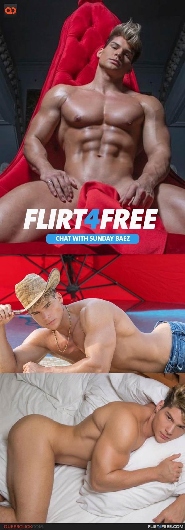 Flirt4Free: Sunday Baez