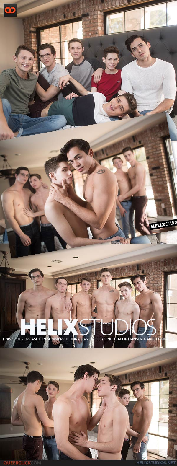 HelixStudios: Travis Stevens, Ashton Summers, Johnny Hands, Riley Finch, Jacob Hansen, and Garrett Kinsley