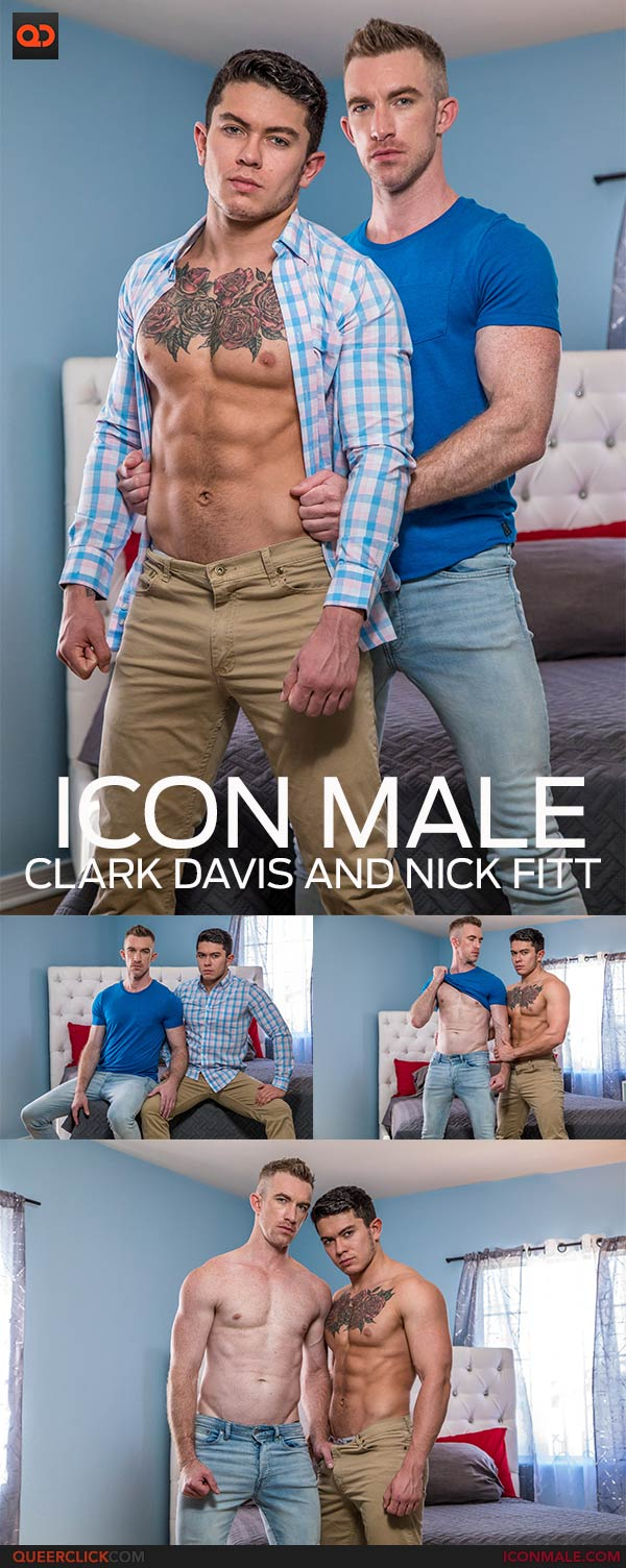 IconMale: Nick Fitt and Clark Davis