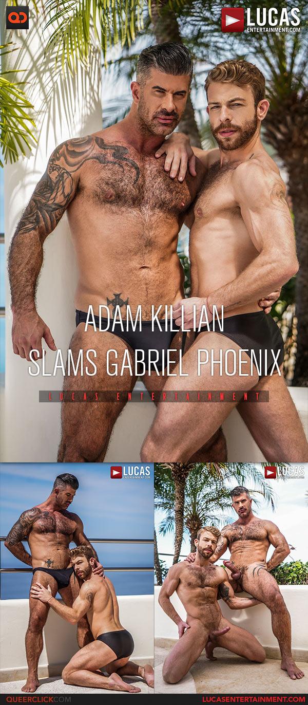 Adam Kilian Porn Movies lucas entertainment: adam killian fucks gabriel phoenix