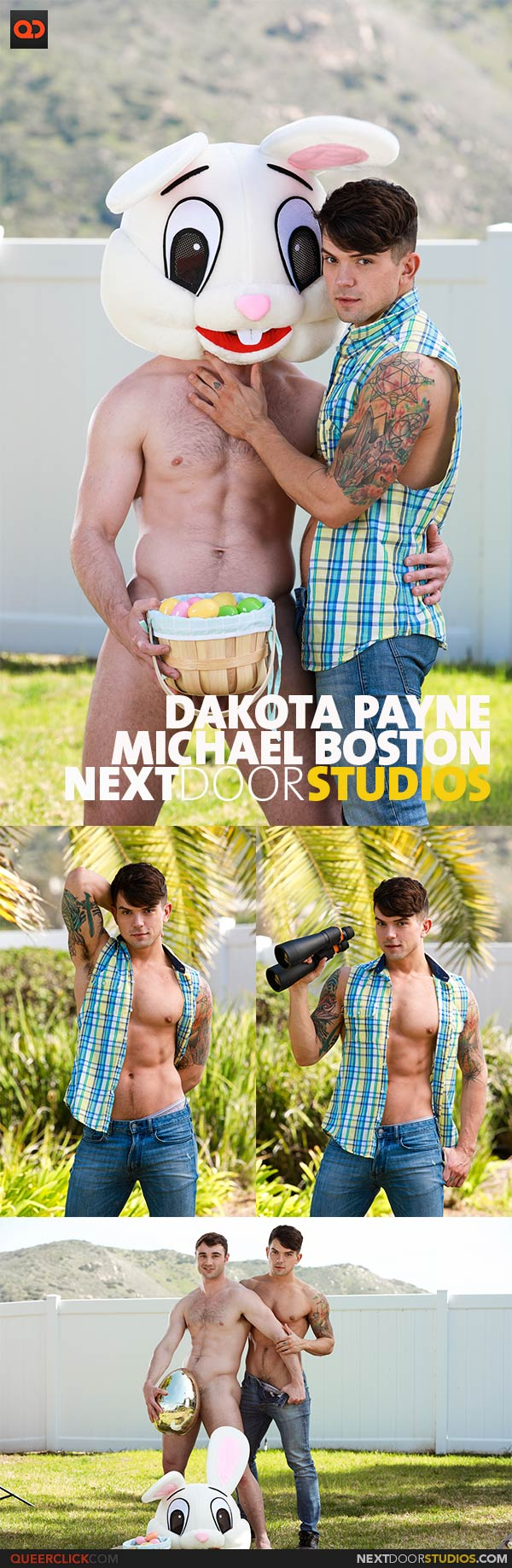NextDoorStudios: Michael Boston and Dakota Payne