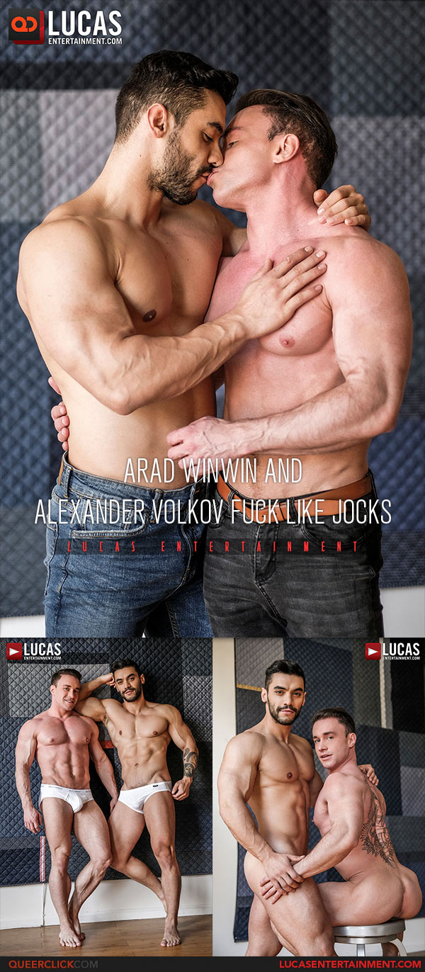 Arad Winwin Porn Videos Bareback lucas entertainment: arad winwin fucks alexander volkov