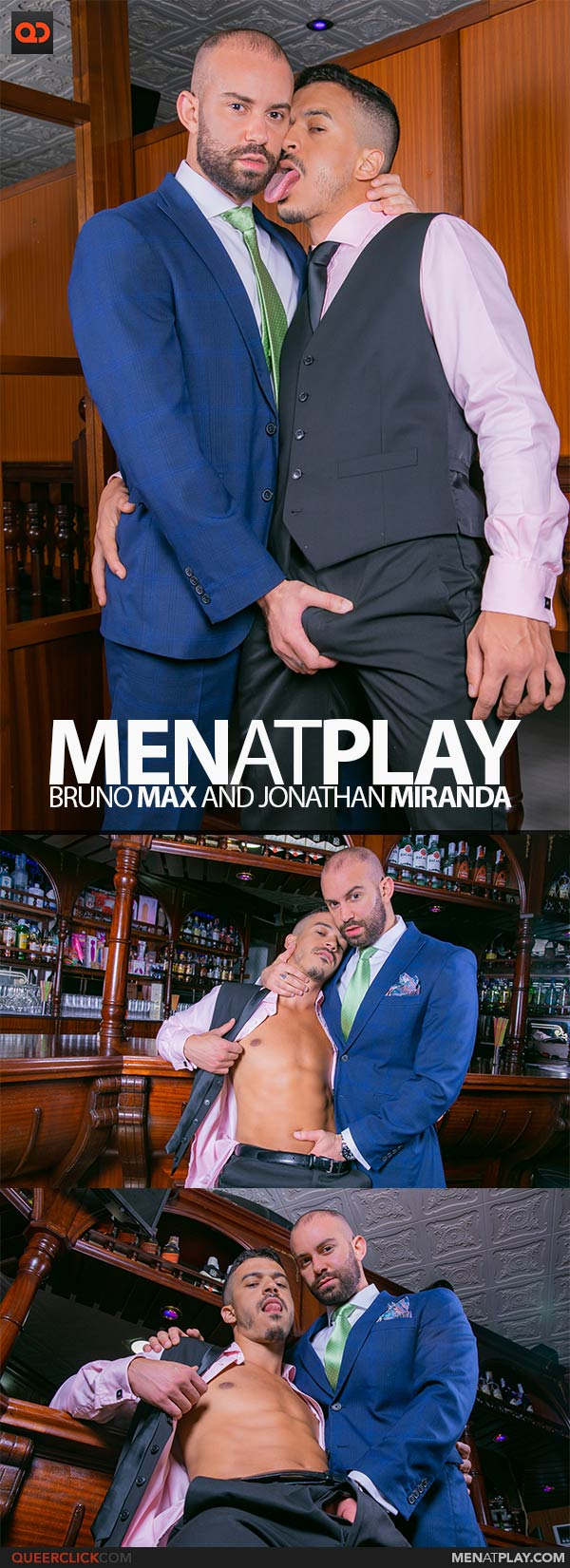 MenAtPlay: Bruno Max and Jonathan Miranda