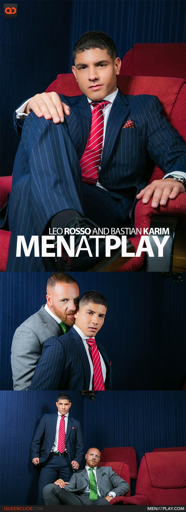 MenAtPlay: Leo Rosso and Newcomer Bastian Karim