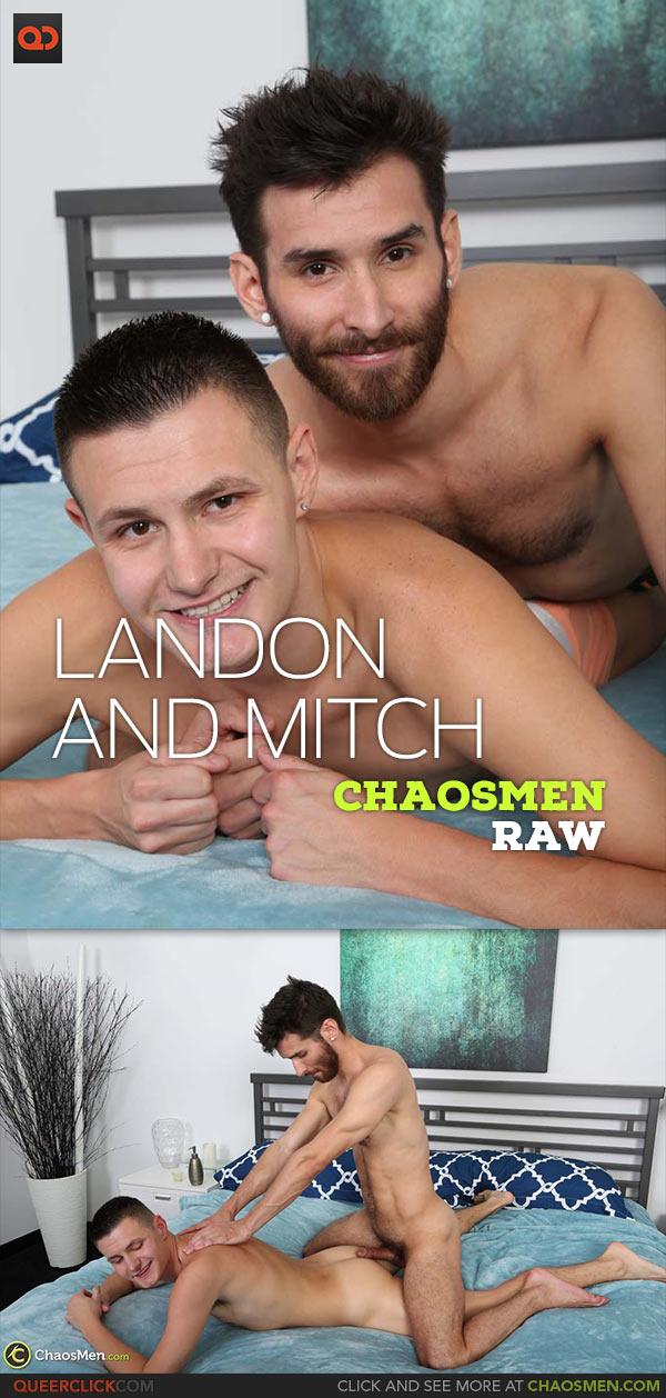 ChaosMen: Mitch Matthews Fucks Landon Pierce - Bareback