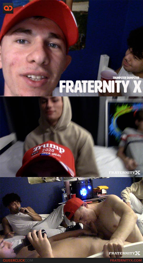 FraternityX: Trumpster Dumpster