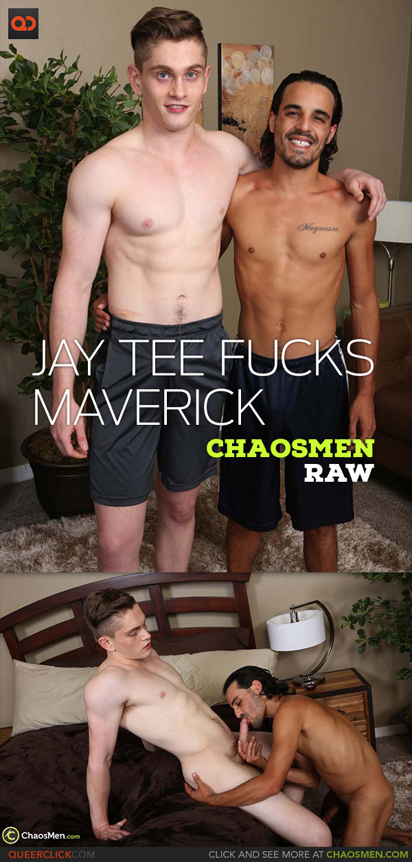 ChaosMen: Jay Tee Fucks Maverick Magnussen - Bareback