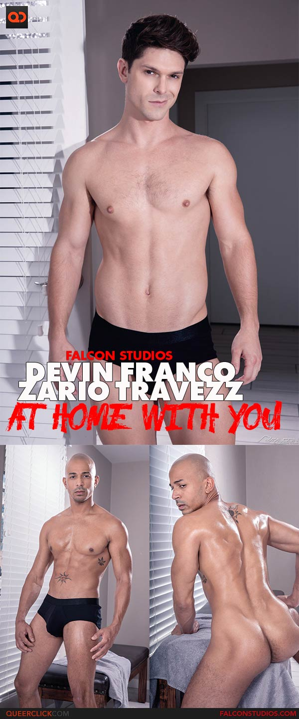 Falcon Studios: Devin Franco and Zario Travezz