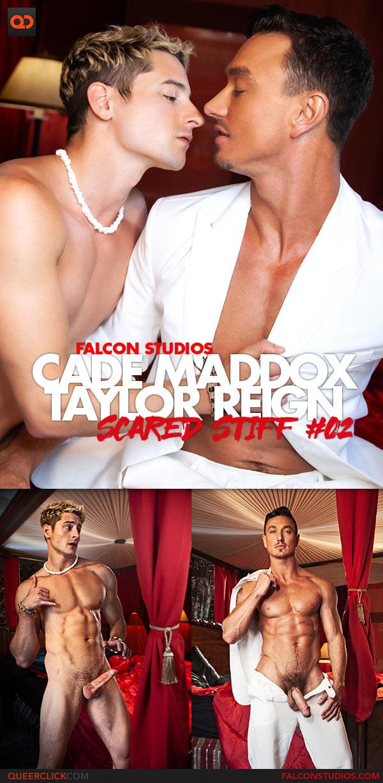 Falcon Studios: Cade Maddox Fucks Taylor Reign Bareback - Scared Stiff #02